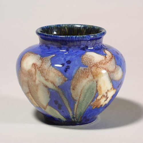 1415: Rookwood glossy  floral, Jensen,1934, x