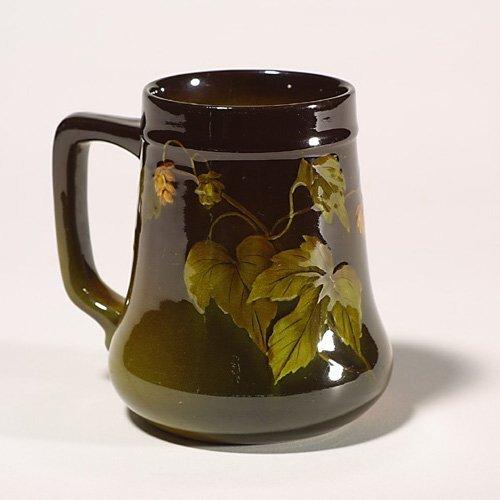 1417: Rookwood Standard mug, hops, Hickman, 1