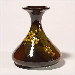 Rookwood Standard vase, tea roses, Linc