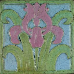 Rookwood Architectural Faience tile, ir