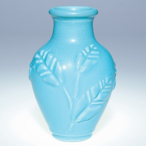 "1007: Rookwood 5 3/4"" production vase, Deco, mat"