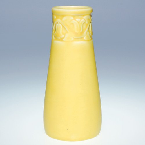 "1015: Rookwood 6"" production vase, 1928, #2111"