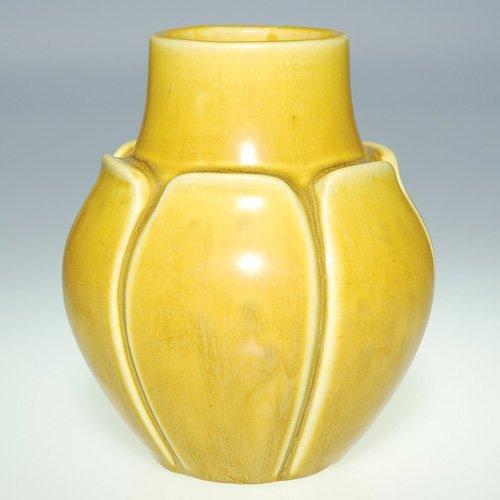"""1106: Rookwood production vase, 1920, 2095, 4 3/4"""""""