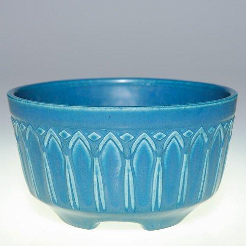 1009: Rookwood blue mat planter, 1922, 1745
