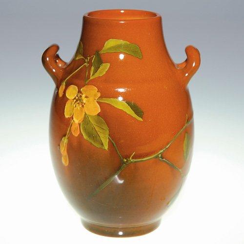 "1012: Rookwood 4 1/2"" Standard vase, Horsfall, '93"