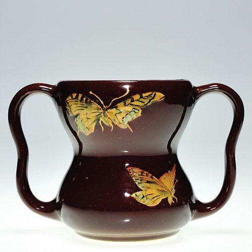 "20: Weller Dickensware I 4 5/8"" mug, butterflies"