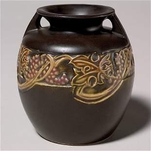 Roseville Rosecraft Vintage vase, bruise by one ha