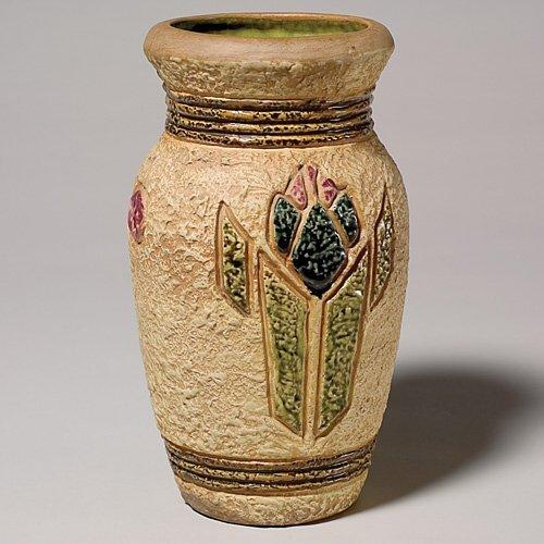 """216: Roseville Mostique vase, shape 18-10"""""""