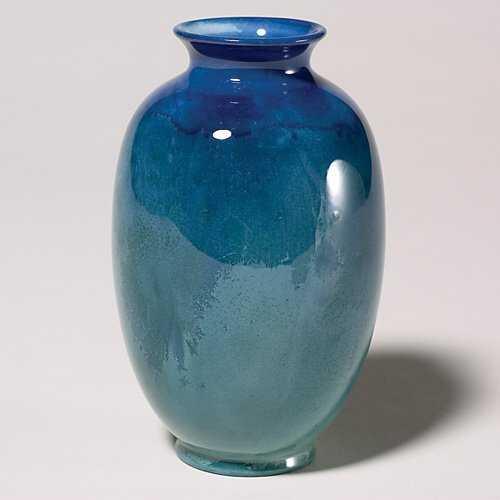 555 Royal Doulton Titanian Vase Crystalline Glaze 5