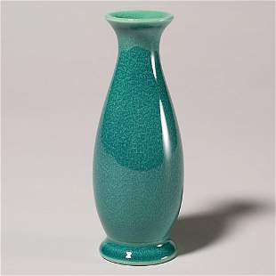 """Rookwood production vase, 1919, 357F, 6 3/8"""", chi"""