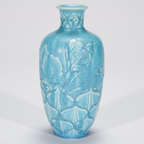 801: Rookwood crystalline mat production vase, 1934, 64