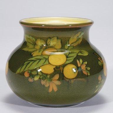 """1003: Rookwood 4"""" scent jar base, 1921, A Conant no lid"""