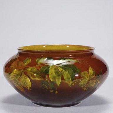"""1010: Rookwood Standard 3 3/4"""" vase, Perkins,1889"""