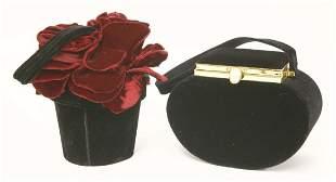 A Lulu Guinness rose flower pot handbag