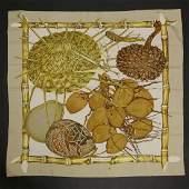 An Herms silk scarf