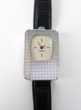 19: A ladies Pierre Balmain mechanical strap watch, c.1