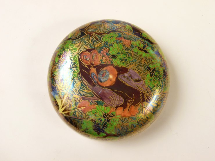 91: A Wedgwood Fairyland Lustre 'Ghostly Wood' Malfrey  - 9