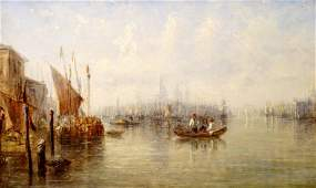 Jane Vivian (19th century), THE GRAND CANAL, VENICE Ind