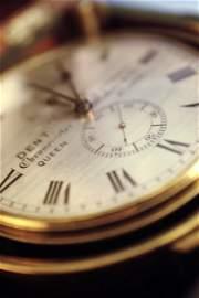 A Dent marine chronometer,  19th century, No,.1932, the