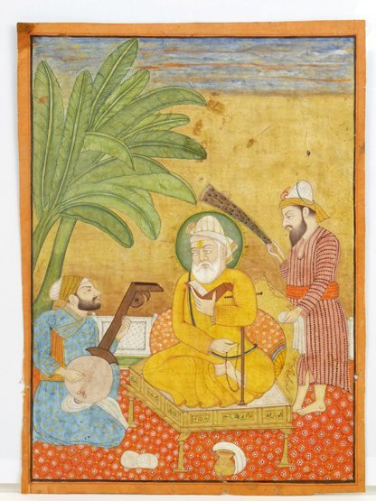 Provincial Mughal (mid 19th century), ONE OF THE SIKH G