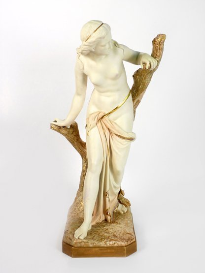A large Royal Worcester Figure,  dated 1917, of 'The Ba