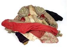 A matador costume, comprising hat, waistcoat and trouse