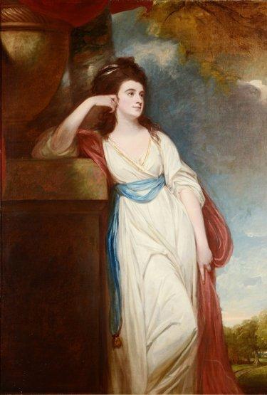 George Romney (1734-1802),   (SH)  PORTRAIT OF ISABELLA