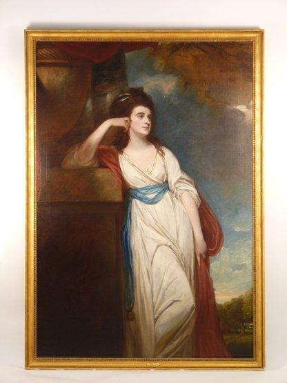George Romney (1734-1802),   (SH)  PORTRAIT OF ISABELLA - 2