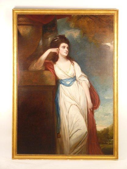 George Romney (1734-1802),   (SH)  PORTRAIT OF ISABELLA - 3