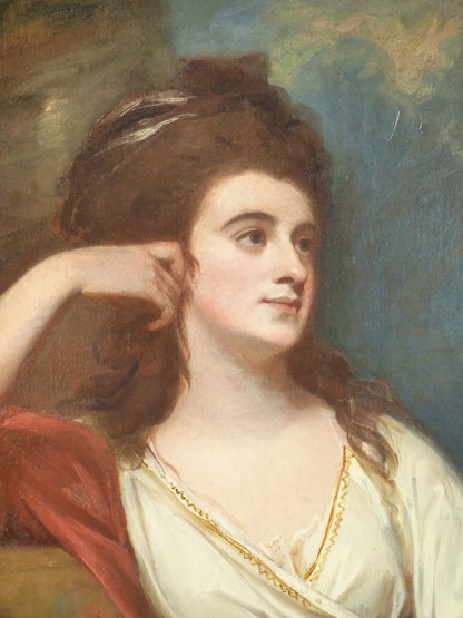 George Romney (1734-1802),   (SH)  PORTRAIT OF ISABELLA - 4