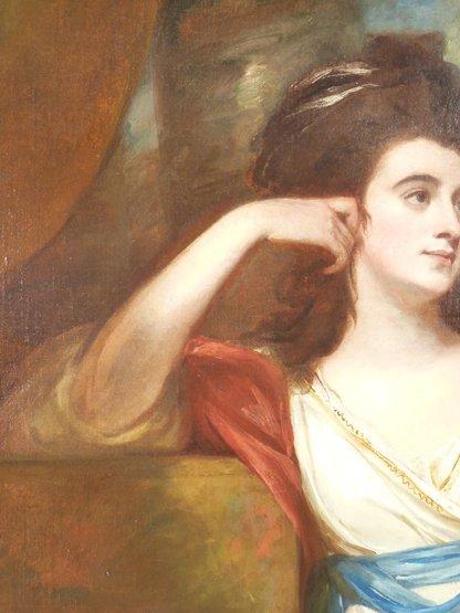 George Romney (1734-1802),   (SH)  PORTRAIT OF ISABELLA - 5