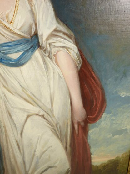 George Romney (1734-1802),   (SH)  PORTRAIT OF ISABELLA - 6