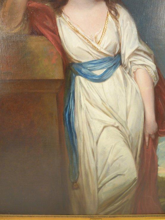 George Romney (1734-1802),   (SH)  PORTRAIT OF ISABELLA - 7