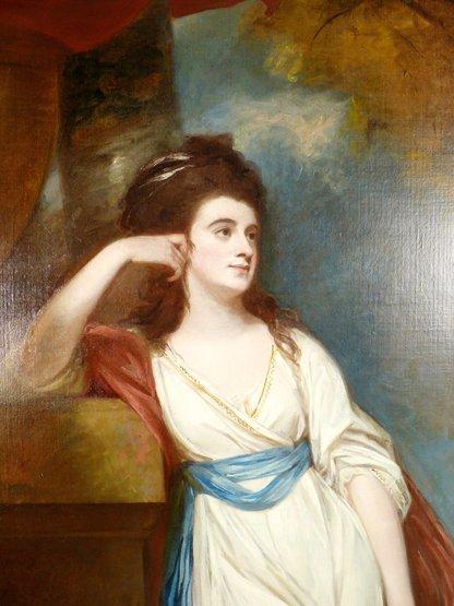 George Romney (1734-1802),   (SH)  PORTRAIT OF ISABELLA - 8