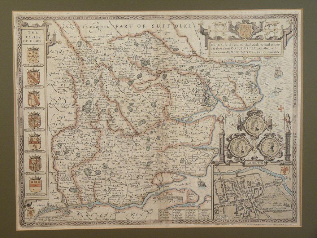John Speede, Norden (John), Hondius (Jodocus), MAP OF E