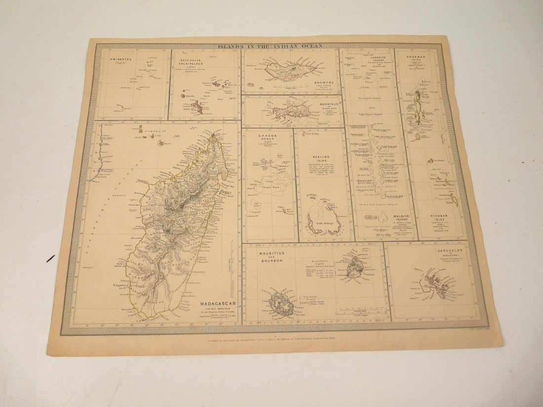 Eleven World maps,  including Germany, East Indies, Wes