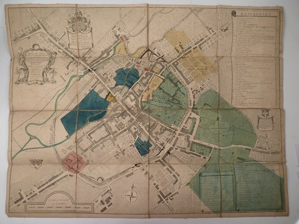 William and Henry Doidge, 'A PLAN OF THE ANCIENT CITY O