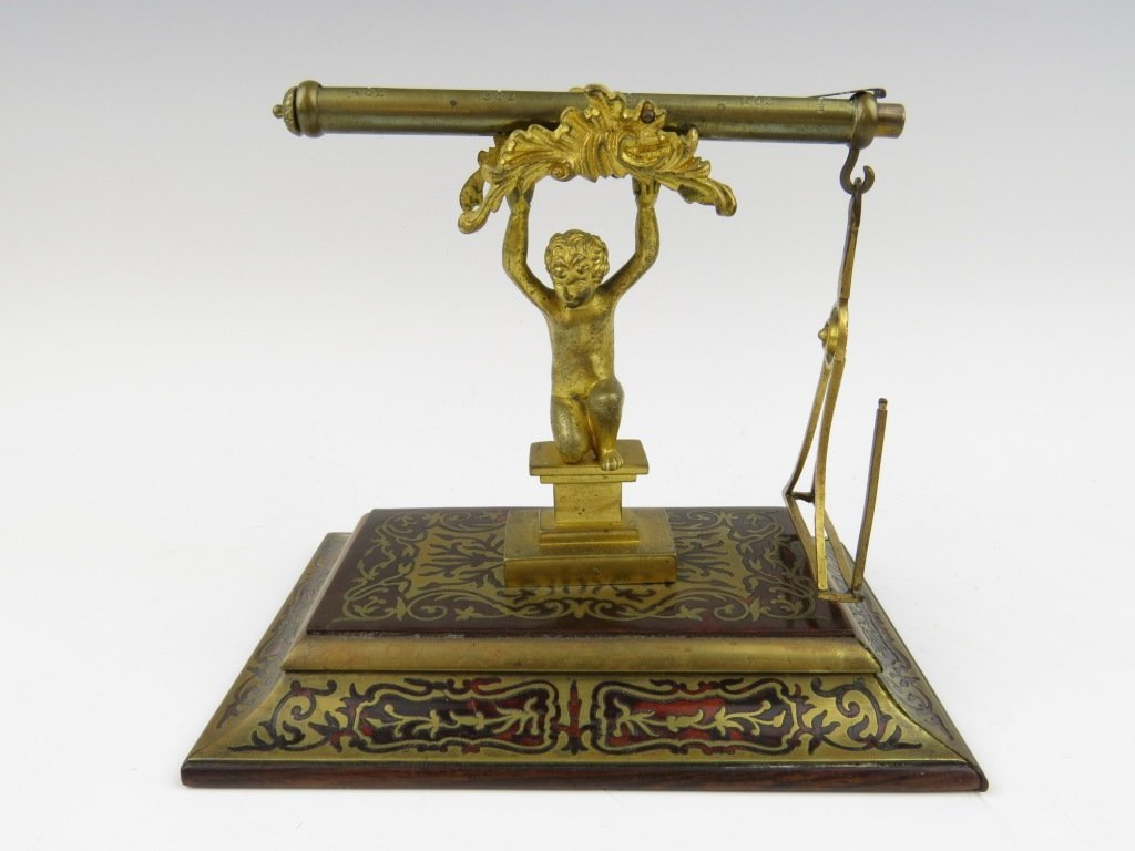 H. B. Wright,  'The Boy' postal scale, c.1830, made by