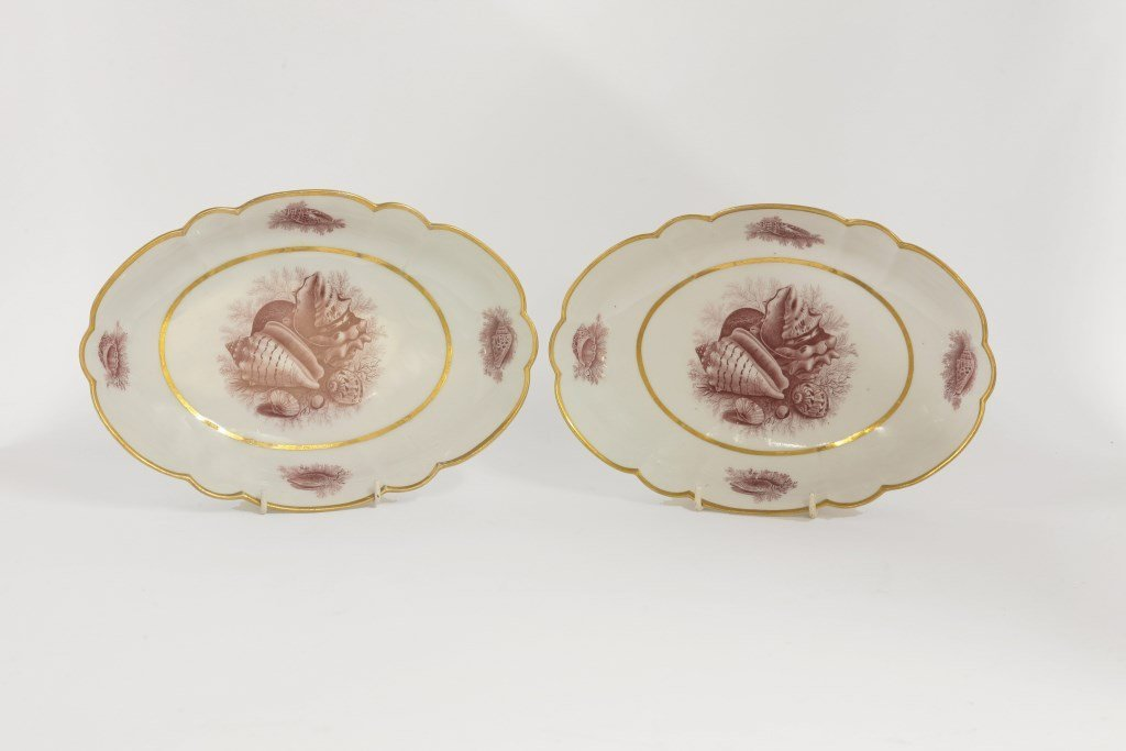 A pair of Barr Flight & Barr Worcester Dishes, c.1810,