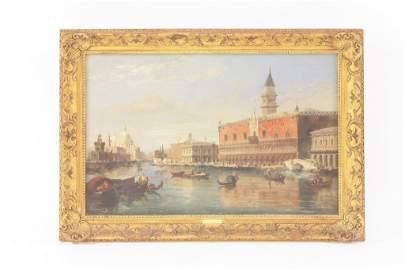 Edward Pritchett (fl.1828-1864), THE GRAND CANAL,
