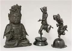 A bronze Avalokitesvara, Ming Dynasty, the goddess