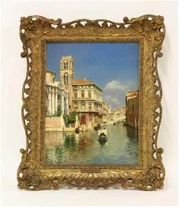 Rubens Santoro (Italian 1859-1942), THE CANNAREGIO,