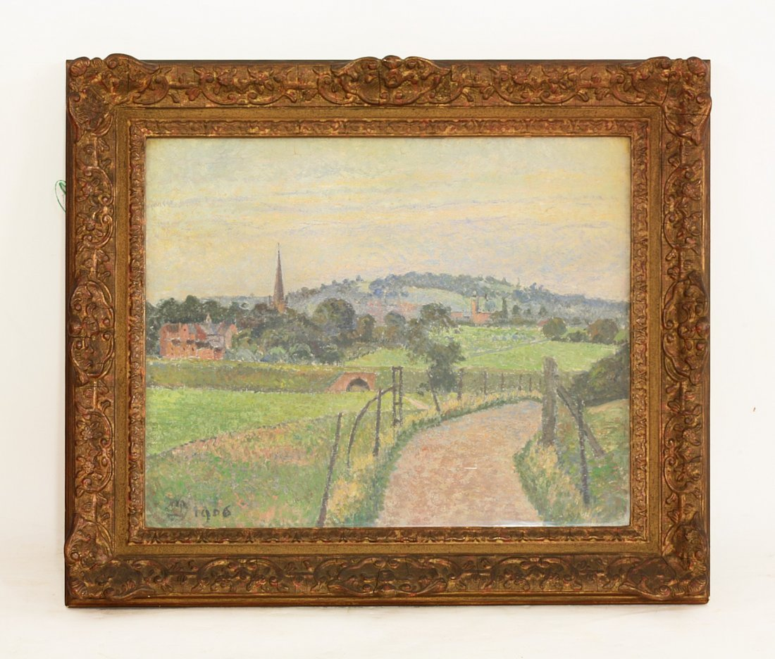 *Lucien Pissarro (French 1863-1944),