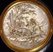 A French silver plaquette, by Jacques-Frederic
