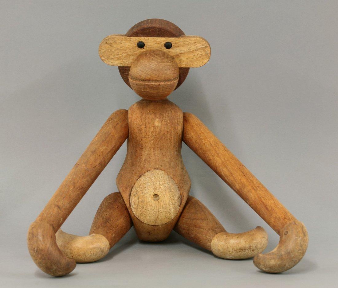 A 'Wooden Monkey', designed by Kay Bojesen (1886-1958),