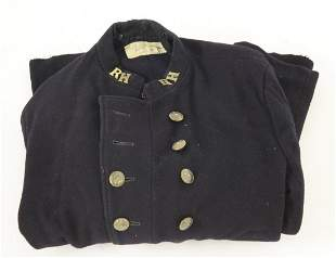 A National Fire Service fireman's tunic, early 20th