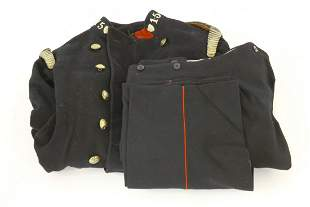 A National Fire Service fireman's tunic, mid 20th