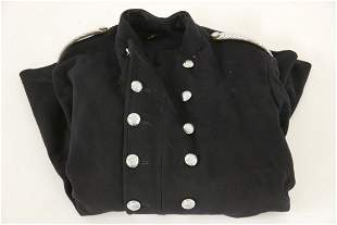 A 1960s London County Council Fire Service tunic,