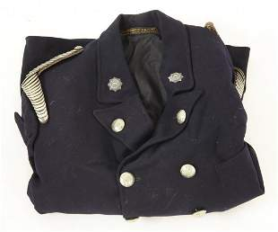 A National Fire Service high ranking officer's tunic,
