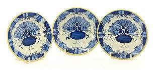 A maiolica Salt, c.1600, possibly Florence, painted in